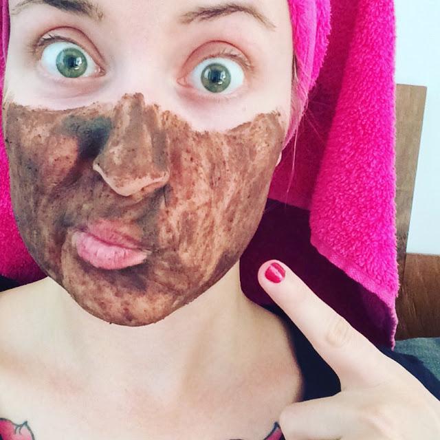 lush chocolate mask