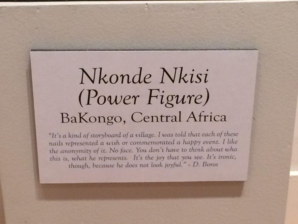 Nkonde Nkisi title card